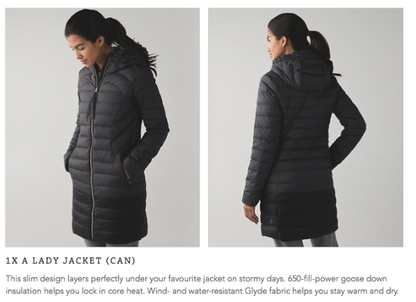 lululemon 1x-a-lady-jacket black