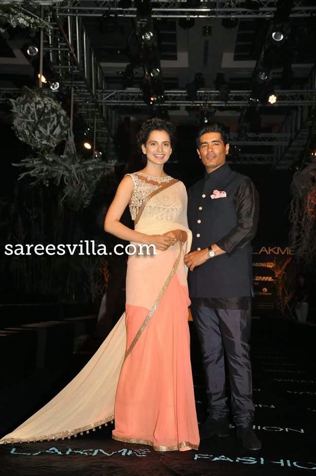 kangana Ranaut and Manish Malhotra