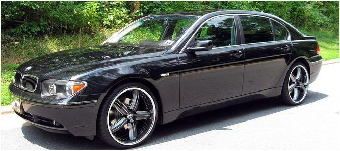 Cho thuê xe cưới BMW 745Li VIP tại Hà Nội 1