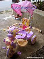 Sepeda Roda Tiga Kids Love 588-1 Sapi