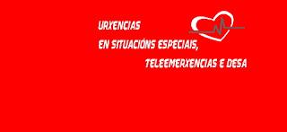 Urxencias en situacións especiais, teleemerxencias e DESA