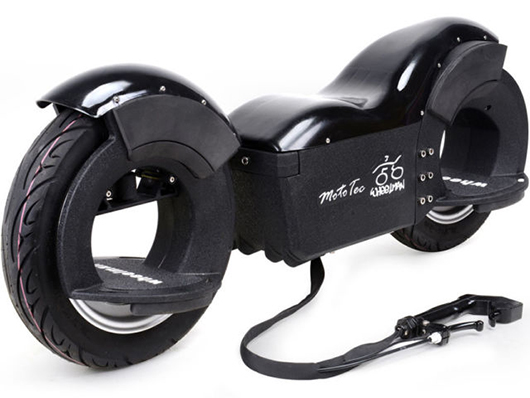 Big Toys MotoTec Wheelman V2 1000W Electric Skateboard Black