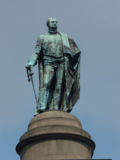Statue of Frederick, Duke of York, at top of Duke of York Column, The Mall, London