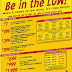 Be in the LOW! When it comes to low fares, it's Cebu Pacific!