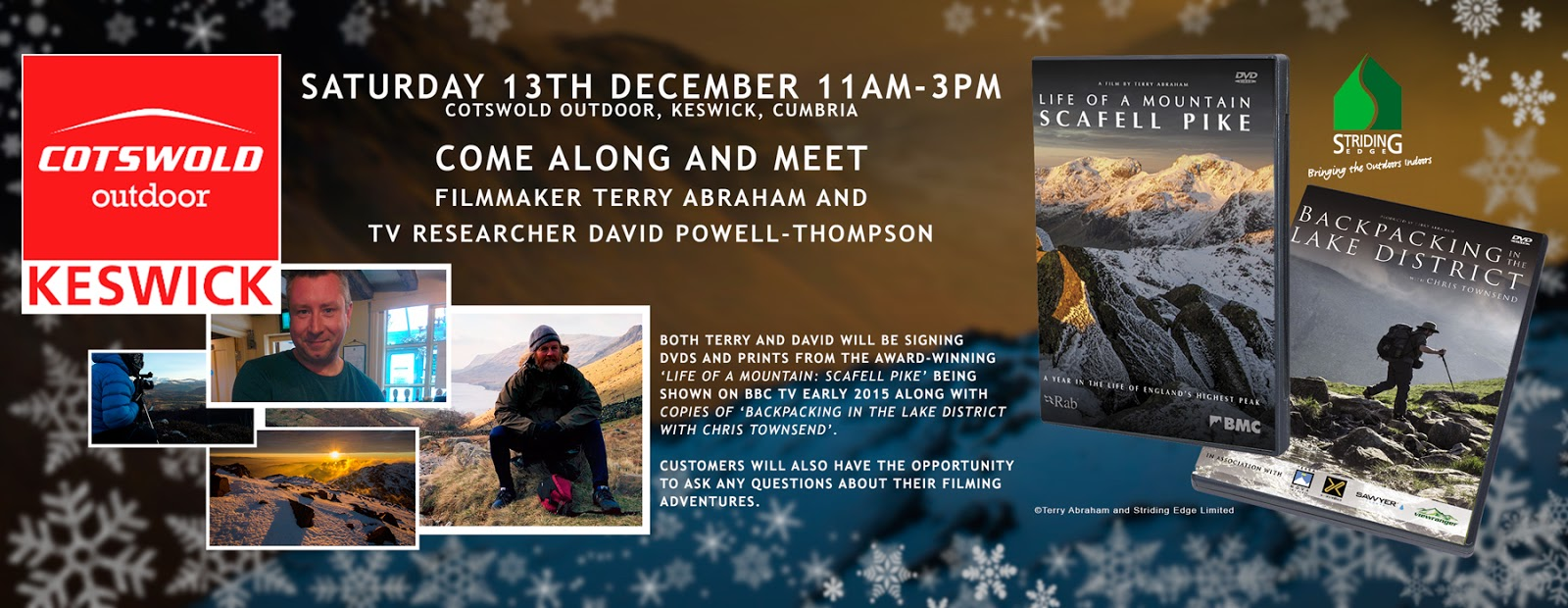 terry abraham david powell-thompson cotswold outdoor keswick