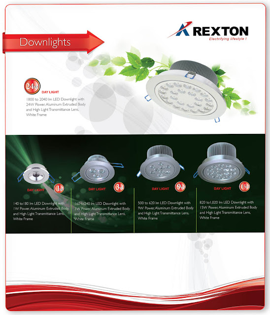 LED Downlights by Rexton Technologies