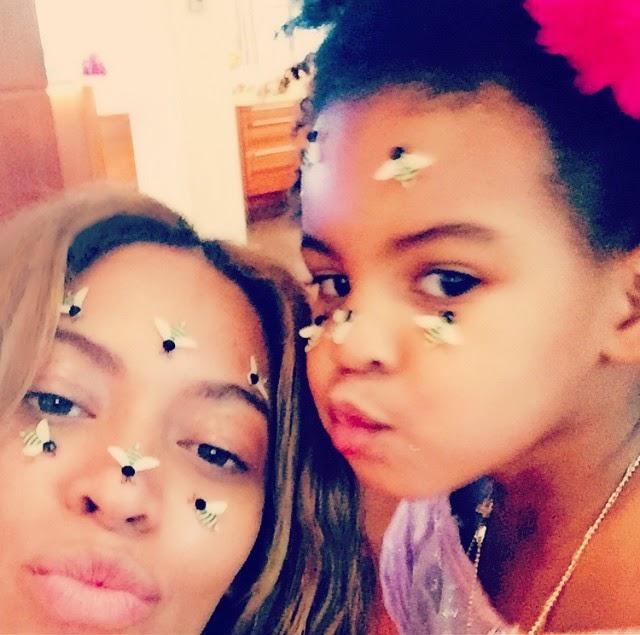 Beyoncé tiene abejas en su cara