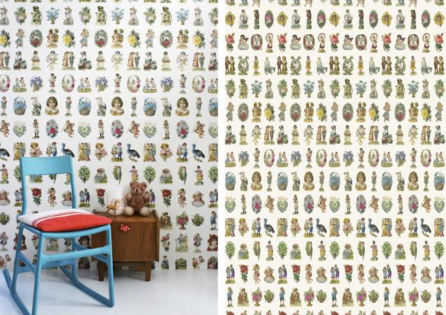 Piensa en chic chic deco papeles decorativos para paredes - Papel decorativo paredes ...