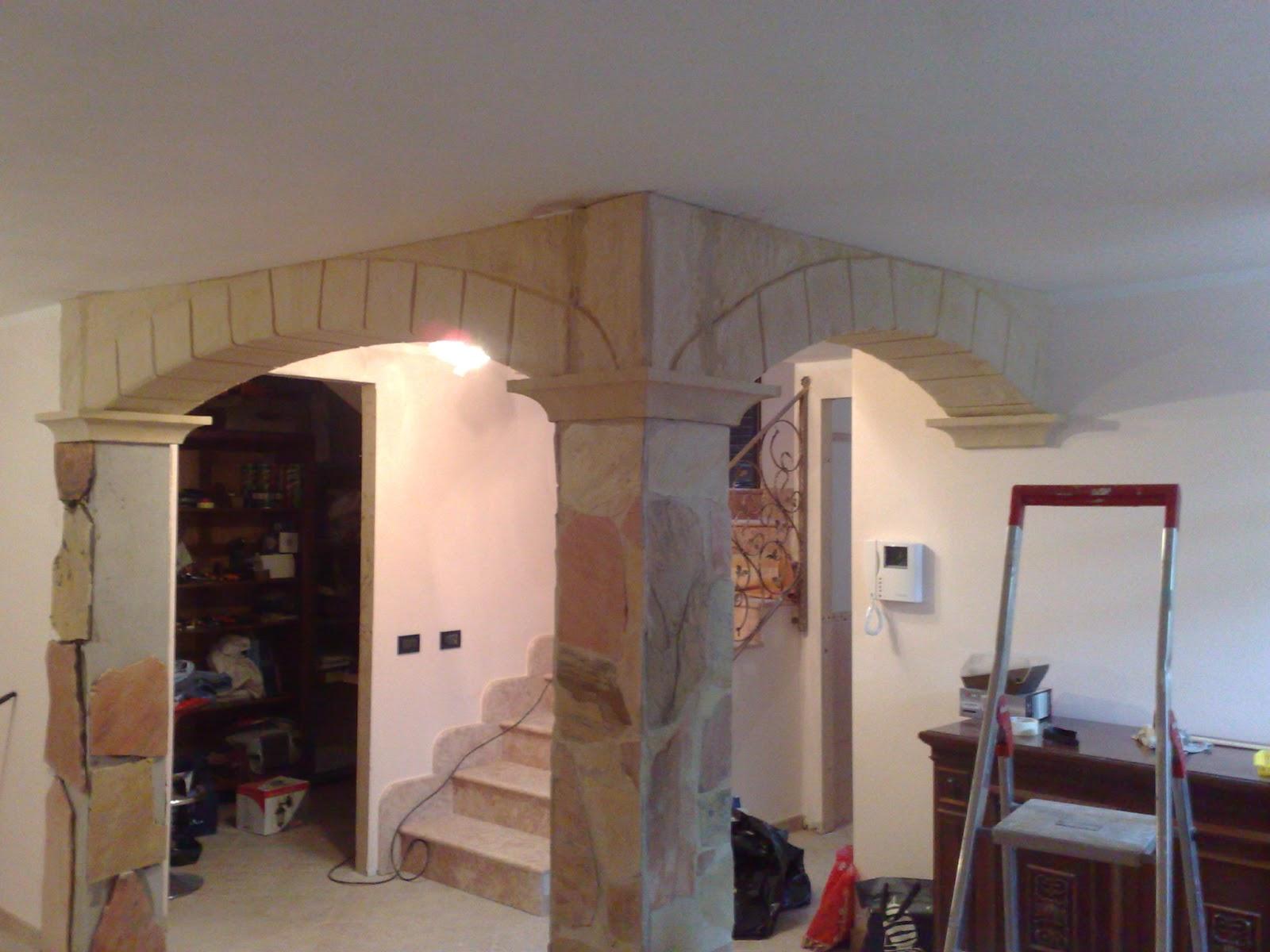 ... pilastri, archi, pannellature varie e rivestimenti personalizzati