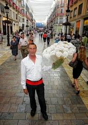 Biznagas en calle Larios