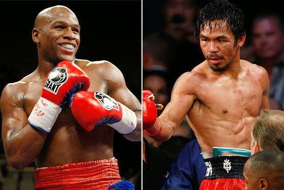 Jadwal Pertandingan Tinju Dunia: Floyd Mayweather vs Manny Pacquiao 3 Mei 2015