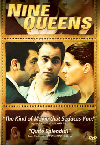 nine queens [] the most nonsensical remake might be criminal, based on the stellar argentine crime caper nine queens, a critical smash and a modest box office.