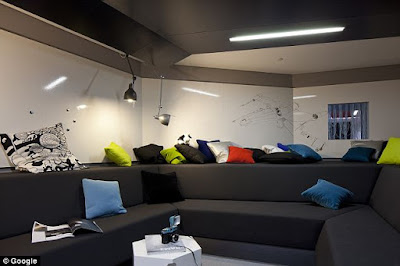 Google Office Design Wall