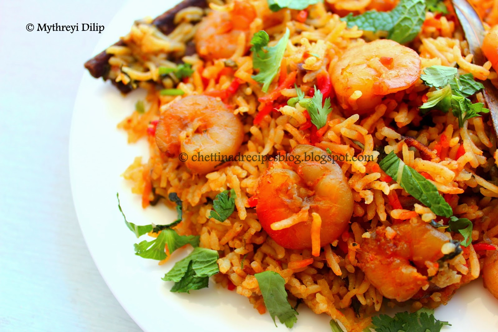 Prawn Biryani - Chettinad Recipes