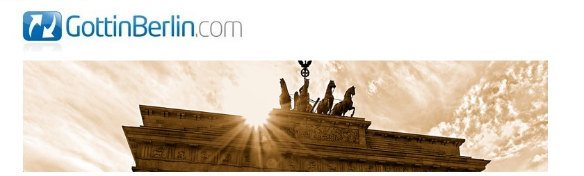 """Der Blog von """"Gott in Berlin"""""""
