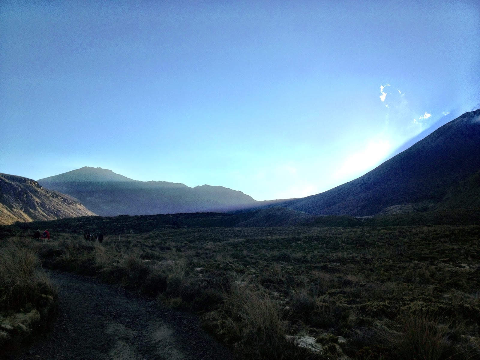 Sunrise over the Tongariro Alpine Crossing, New Zealand