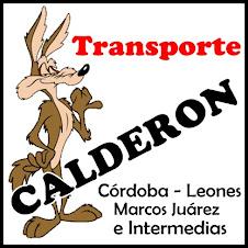 TRANSPORTE CALDERON
