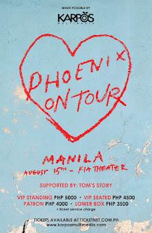 Phoenix Live in Manila