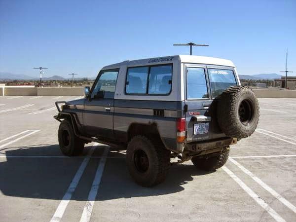 Real Jdm 1988 Toyota Land Cruiser Bj74 4x4 Auto