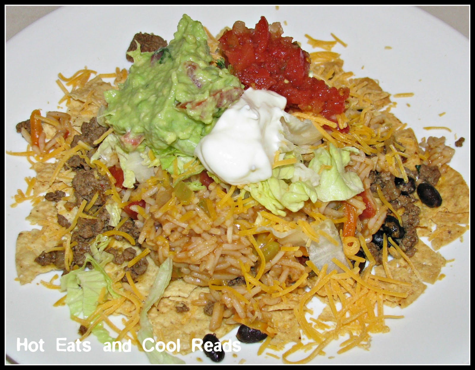 Hot Eats and Cool Reads: Incredible Taco Salad Recipe
