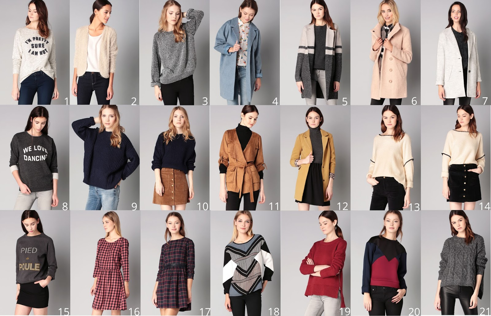 Sélection shopping MonShowroom