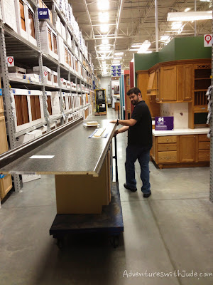 Lowe's for cabinetry