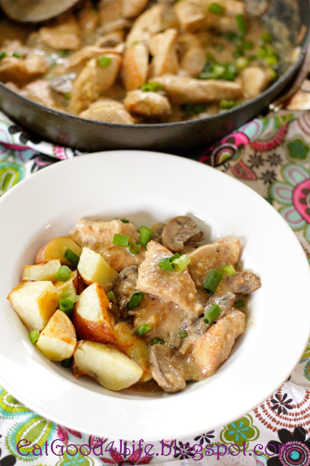 Spanish chicken with almond sauce eat good 4 life spanish chicken with almond sauce forumfinder Choice Image