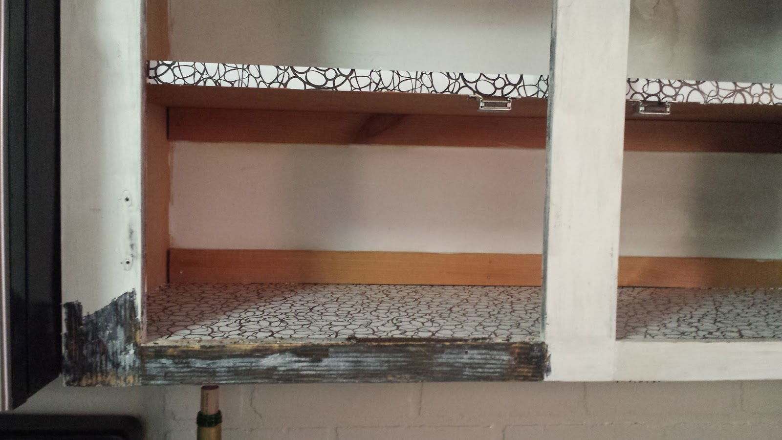 stripping painted cabinets