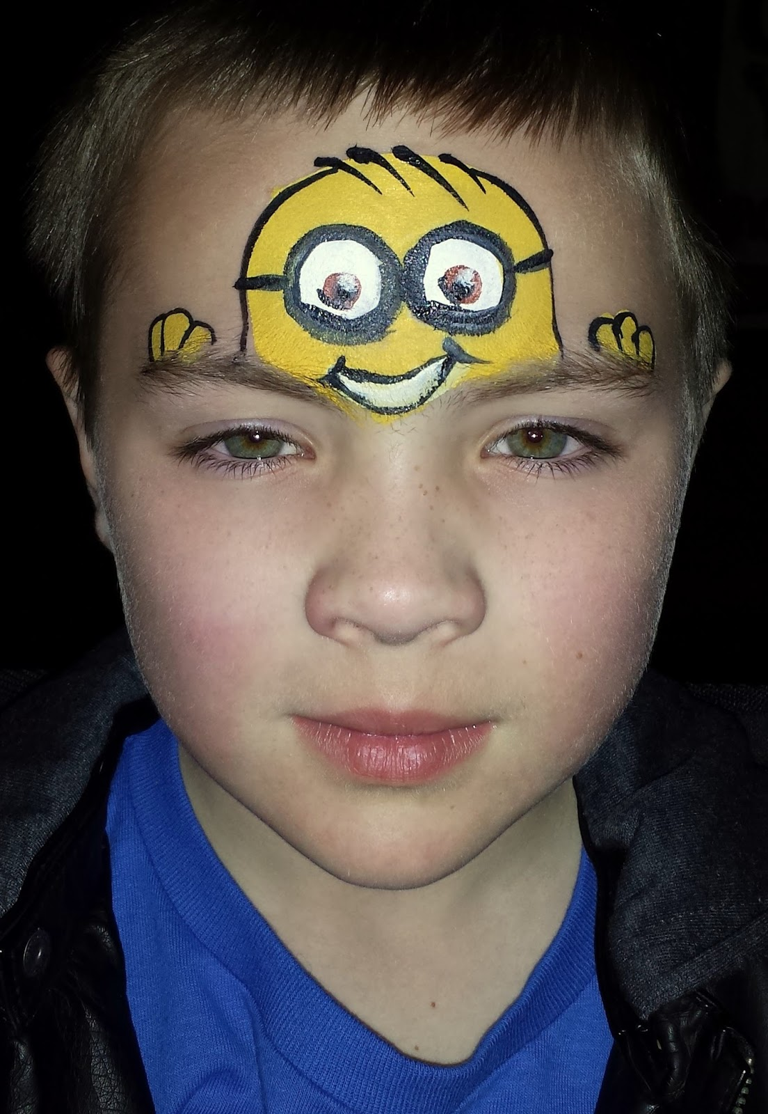 Gallery For gt Minion Face Paint