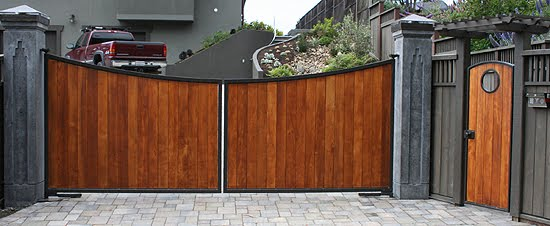 Wood Garden Main Gate Designs Are Also Important As Only Wood Is The  Material That Makes Good Look With Garden. Decorative Main Gates Are Also  Most Demanded ...