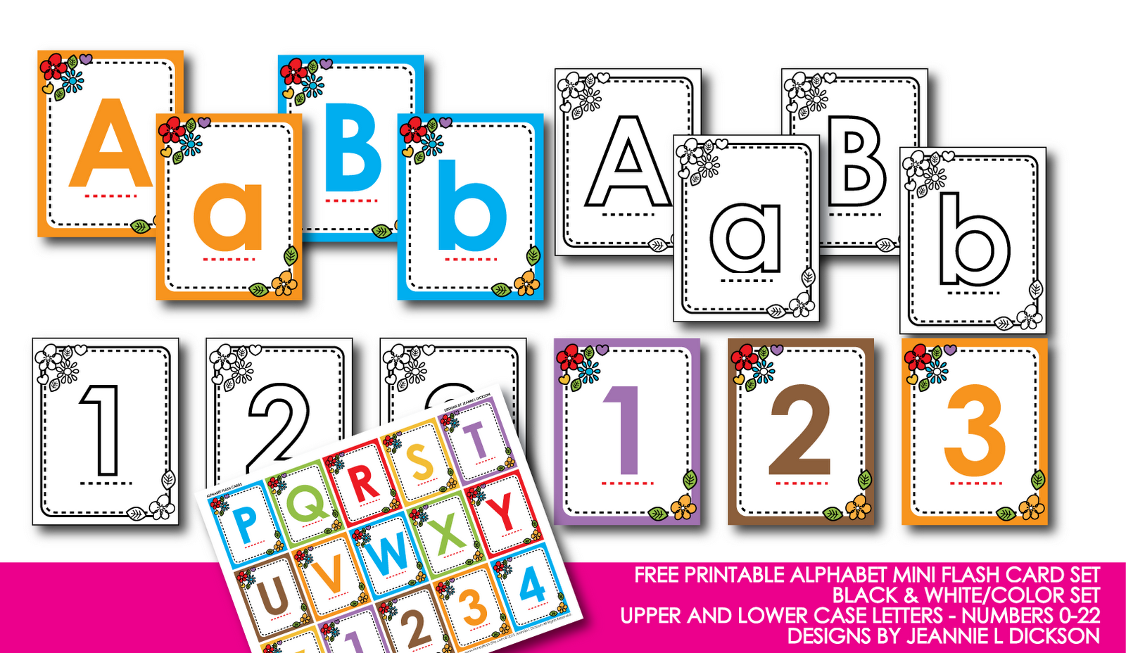 This is a picture of Amazing Printable Abc Flash Cards