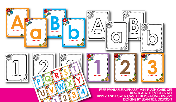 Free Printable Alphabet Letters To Print Numbers