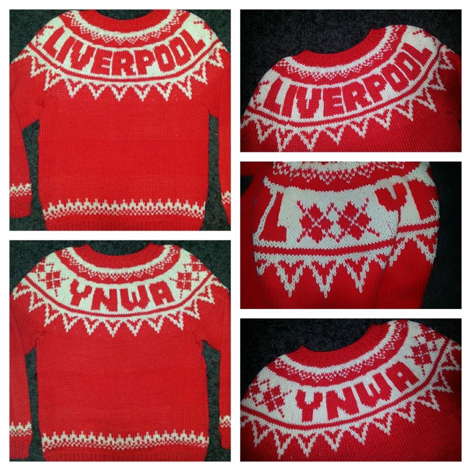 LFC genser - designa av meg