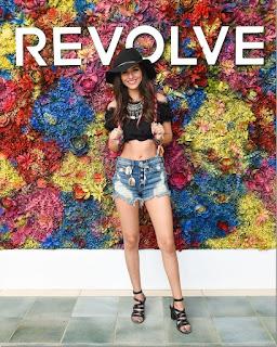 Victoria Justice at REVOLVE Festival