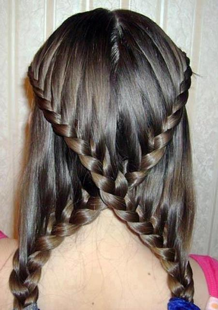 French Fishtail Braid For Short Medium And Long Hair Tutorial Layered Hairstyle Valentines Day