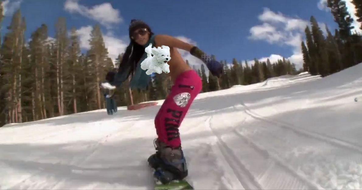 Snowboarding porn