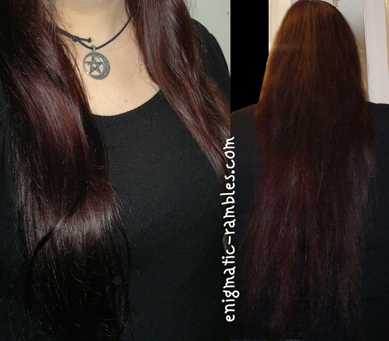 Review-L'Oreal-Feria-Preference-Plum-Power-P37-hair-after