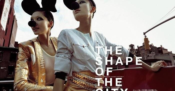 Asian models blog editorial shu pei bonnie chen kong for A k a cedric salon nyc