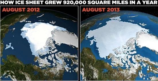 Peningkatan Es Arktik, Pemanasan Global Bakal Berakhir