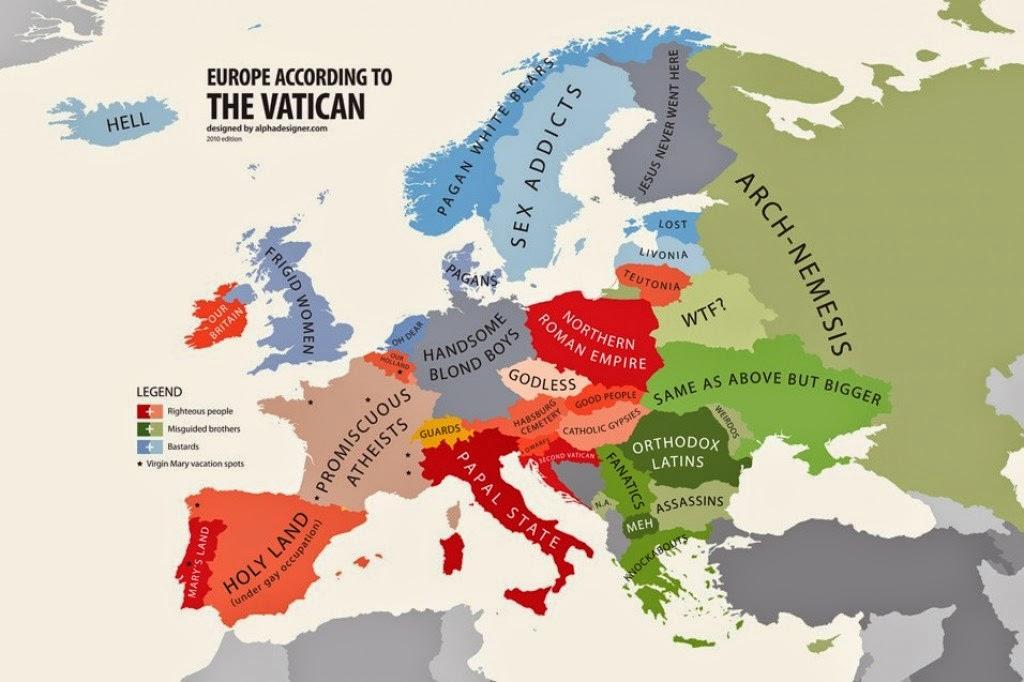 A Europa vista pelo Vaticano, A Europa de Acordo com o Vaticano