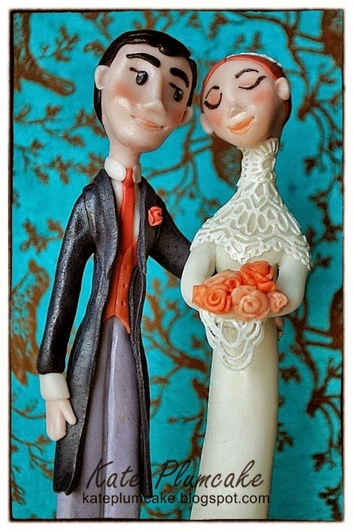 topper sposi - wedding cake topper