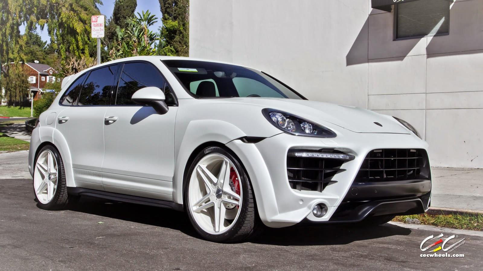 Porsche cayenne turbo cec wheels supercars show - Super sayenne ...