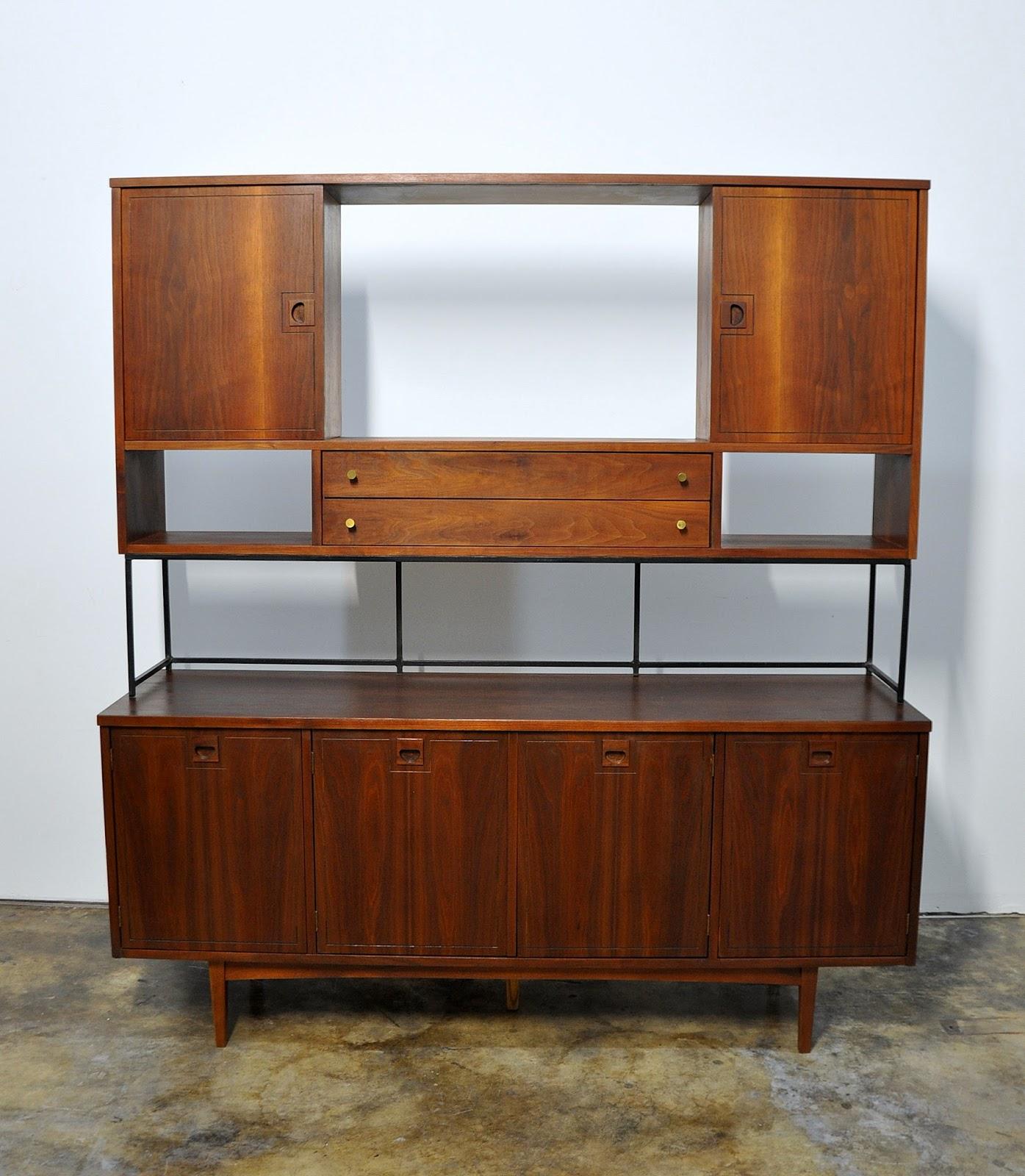 Select Modern Stanley Furniture Credenza Bar Room Divider Media Console Buffet Or Sideboard