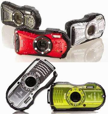 Ricoh WG-4, WG-20 Dua kamera lasak Ricoh