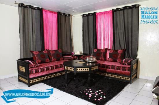 ... Salon Marocain Rose ...