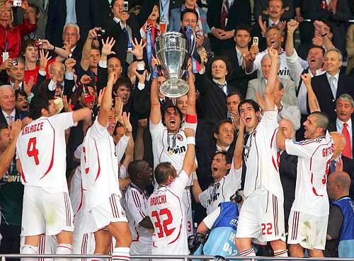 Foto ac milan juara liga chions musim 2006/2007