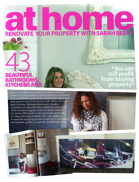 graffiti4hire athome interior design magazine large