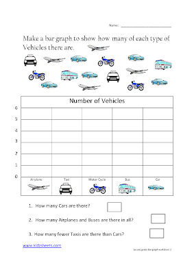 Free Printable Second Grade Worksheets,Free Worksheets, Kids Maths Worksheets, Maths Worksheets, Second Grade Bar graph, Bar graph, Second Grade, Kids Bar Graphs