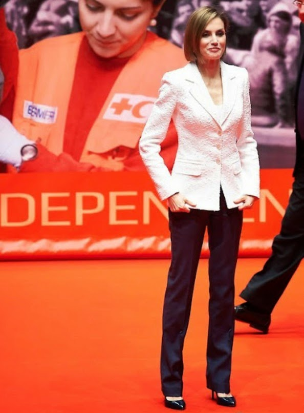 Queen Letizia At The Red Cross World Day Commemoration In Valladolid