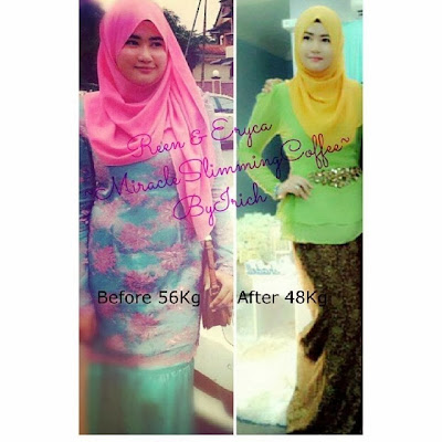 testimoni miracle slimming coffee